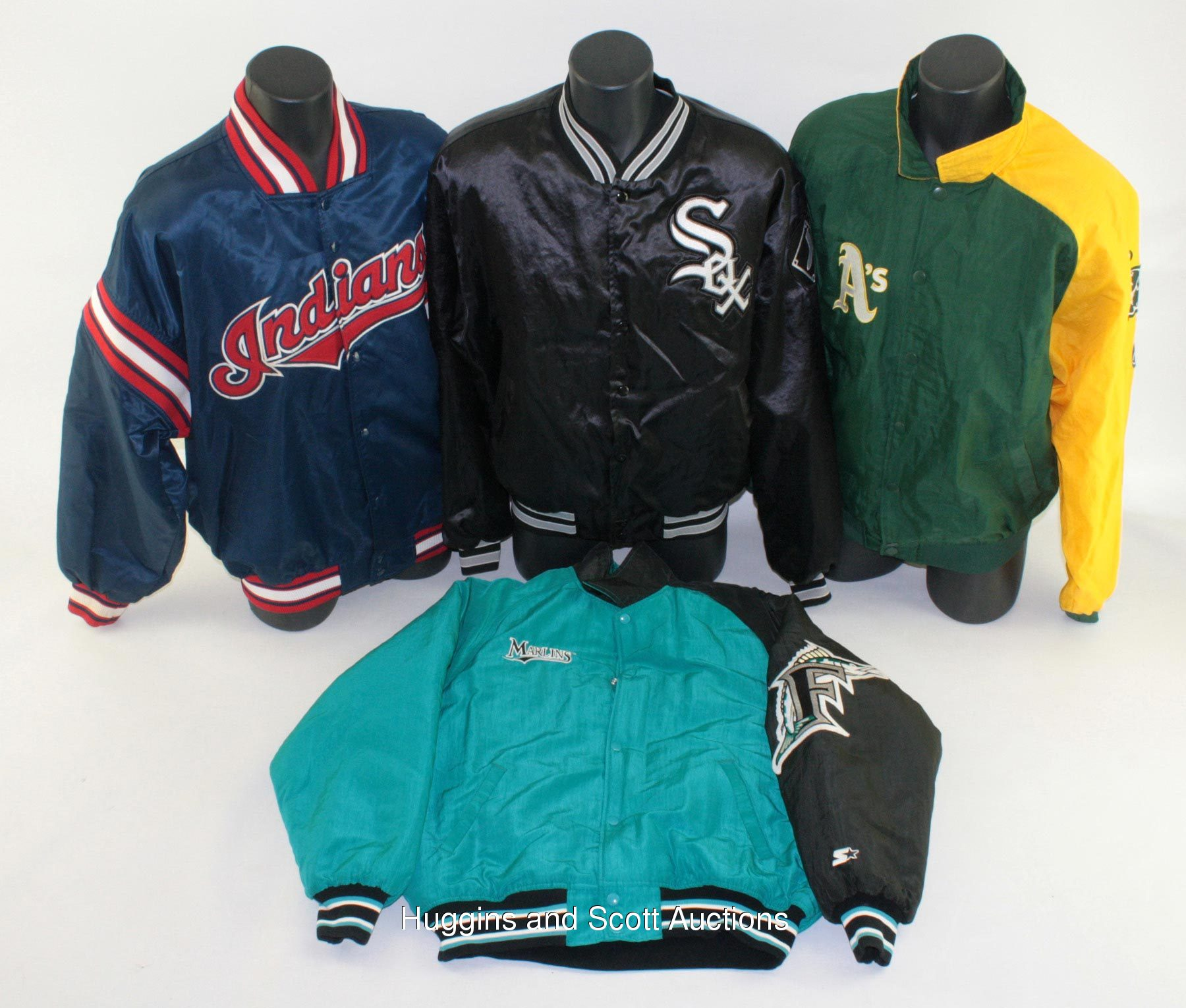 7) Professional Style Major League Baseball Jackets with Vintage
